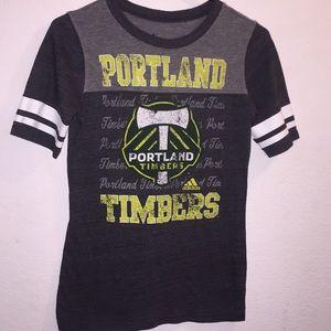 Portland Timbers Adidas Shirt Size Small